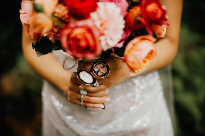 alternatief voor een bruidsboeket